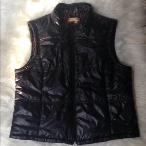 🌶 Princess Vera Wang Faux Leather Vest Size XL